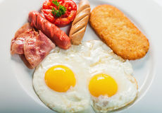 Full Cooked English Breakfast Stock Images