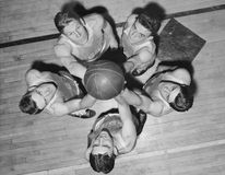 FULL COURT PRESS Royalty Free Stock Photography