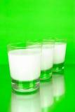 Full Cream Milk Stock Image