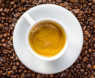 Full cup of Coffee Stock Photos