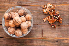 Full Cup of nuts Royalty Free Stock Images