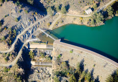 Full dam in Cyprus Royalty Free Stock Images