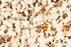 Full of delicious pop corn Royalty Free Stock Photography