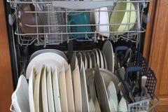 Full dishwasher Stock Photos