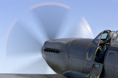 Full disk. From Rygge Airshow in Norway 2009 stock photography