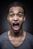 Full of emotions. Royalty Free Stock Images