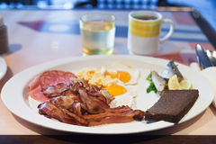 Full English breakfast Royalty Free Stock Photography
