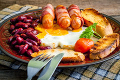 Full english breakfast. Stock Image