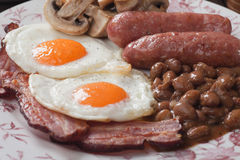 Full english breakfast Stock Photography