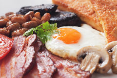 Full english breakfast Royalty Free Stock Photos