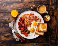 Full English breakfast Royalty Free Stock Image