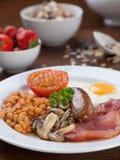 Full English breakfast Stock Image