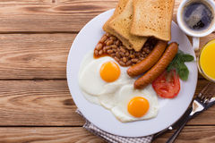 Full English Breakfast Stock Images