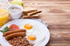 Full English Breakfast Royalty Free Stock Photos