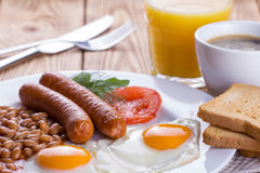 Full English Breakfast Royalty Free Stock Image