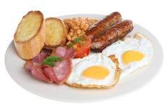 Full English Fried Breakfast Royalty Free Stock Photos
