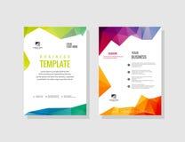 Full färg för broschyr Arkivfoto