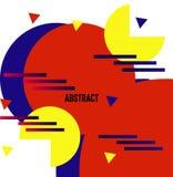 Full färg för cirkel vektor illustrationer