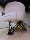 Full Flight Simulator Royalty Free Stock Photo