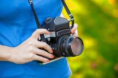 Full-format camera Royalty Free Stock Photo