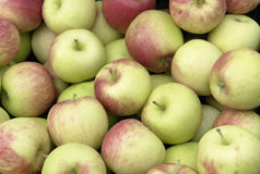Full frame apple background Stock Photography