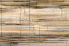 Closeup of faded wooden blinds Royalty Free Stock Images