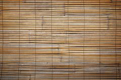 Closeup of faded wooden blinds Royalty Free Stock Photo