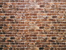 Full Frame Background of Brick Wall Texture Royalty Free Stock Images