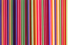 Full frame background of colorful drinking straws Royalty Free Stock Images