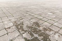 Old paving stones outdoors Stock Image