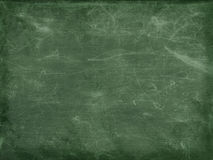 Full Frame Blank Green Chalkboard Background With vignette frame Royalty Free Stock Photos