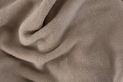 Full frame of blanket. Full frame of soft blanket stock photo
