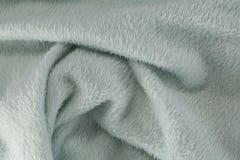 Full frame of blanket. Full frame of turquoise blanket royalty free stock photography