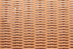 Full Frame brown Basket. Weave Background Royalty Free Stock Image
