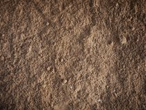 Full frame of brown sand texture background. Space for text stock photography