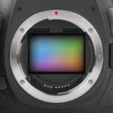 Full frame camera sensor Royalty Free Stock Photo