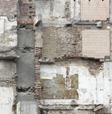 Demolition wall Royalty Free Stock Photography