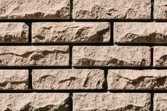 Full frame image of stone. Wall background royalty free stock photos