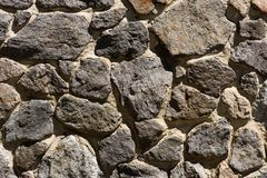 Full frame image of stone. Wall background stock images