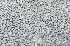 Full frame shot of cobblestones at Manila American Cemetery and Memorial, Manila, Philippines Royalty Free Stock Photo