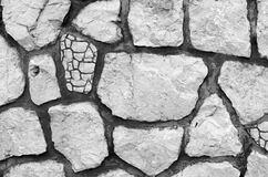 Full Frame Shot of Cracked Stone Stock Images