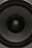 Full Frame Woofer. A woofer from an audio speaker, full frame royalty free stock photography