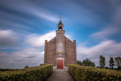 Full frontal. Little church in the Netherlands Stock Photography