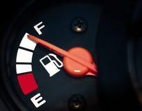 Full fuel. Close up of full fuel Stock Image