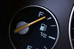 Full fuel gauge Stock Images