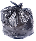 Full garbage bag Stock Photography