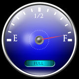 Almost full gas tank Stock Image