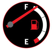 Full gas tank Royalty Free Stock Image
