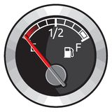 Full gas tank. Vector illustration of the Full gas tank Royalty Free Stock Photography