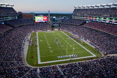 Full Gillette Stadium Stock Photography